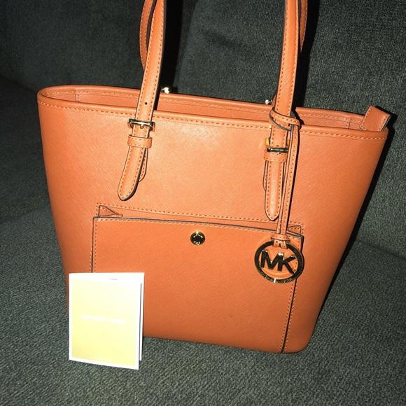 3fece3071fd7 Michael Kors Bags | Burnt Orange Mk Purse | Poshmark